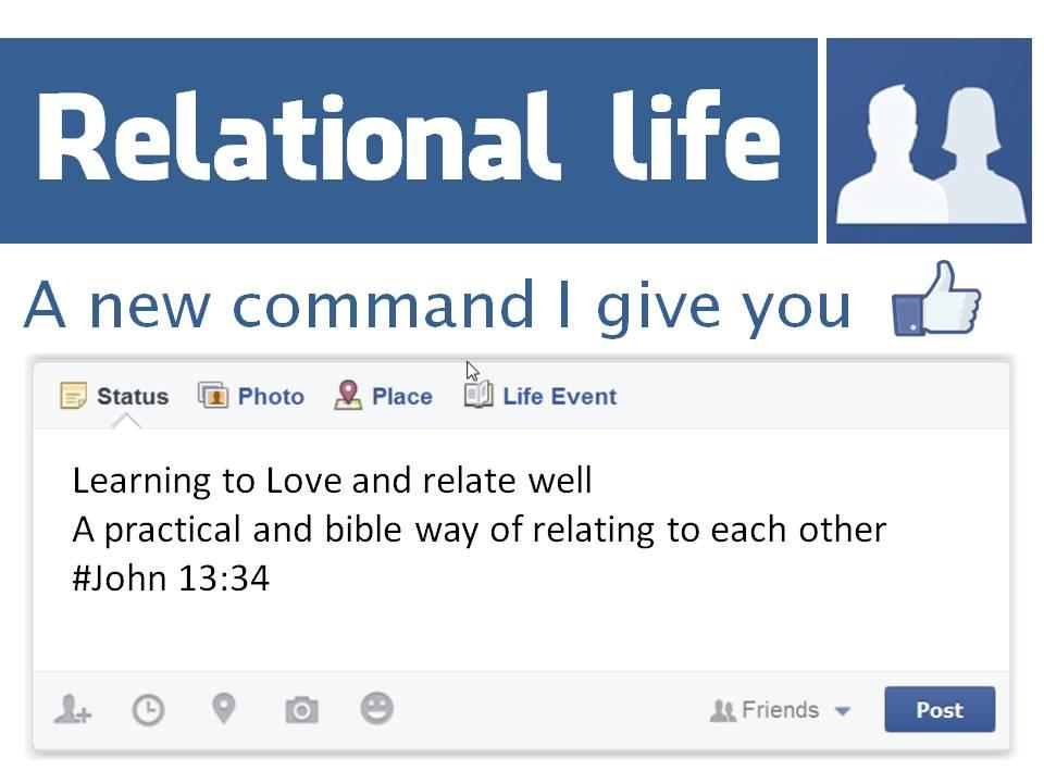 Relational life title slide